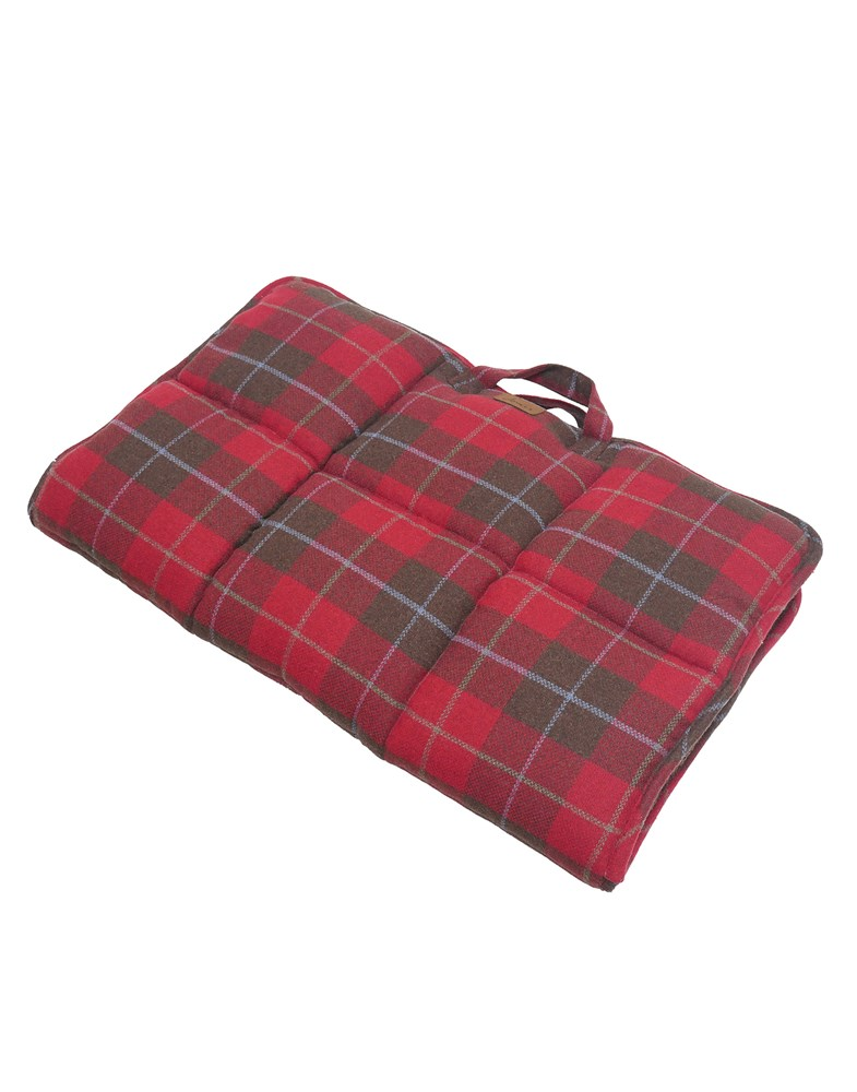 JOULES RED COUNTRY TWEED TRAVEL MAT