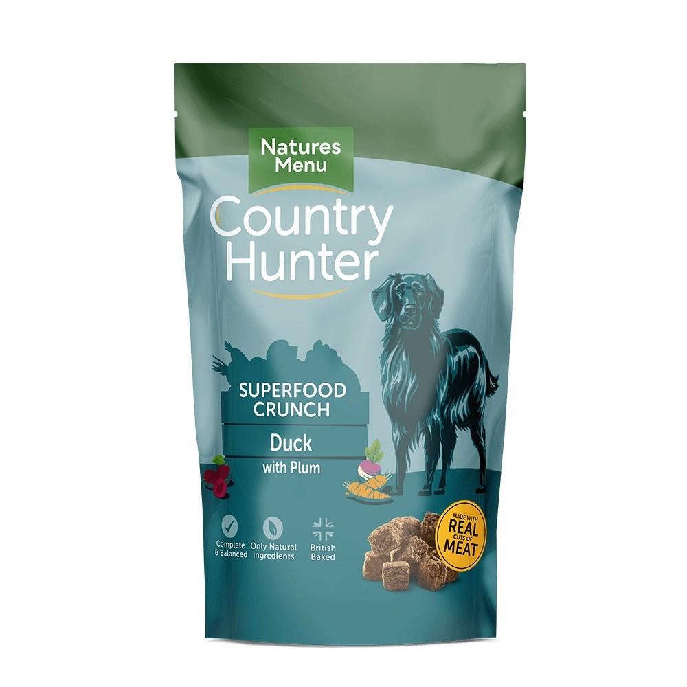 Country Hunter Superfood Crunch Adult Dog Duck with Plum 1.2kg