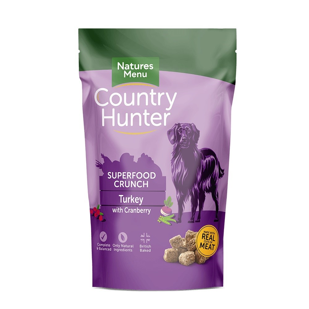 Country Hunter Superfood Crunch Adult Dog Turkey with Cranberry 1.2kg