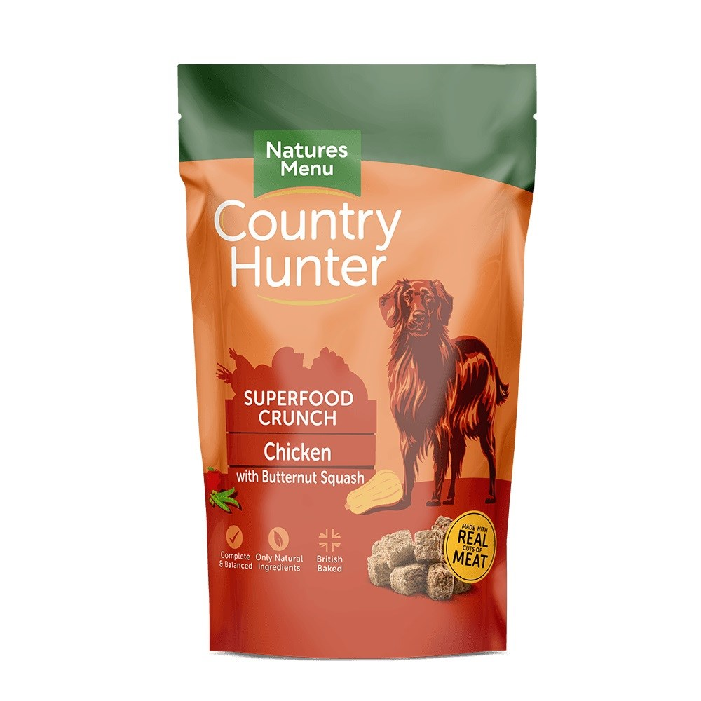 Country Hunter Superfood Crunch Adult Dog Chicken 1.2kg