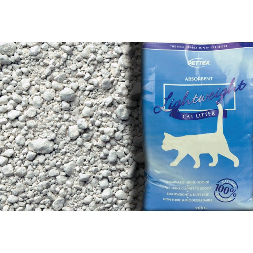 PETTEX ANTI-BAC LIGHTWEIGHT CAT LITTER 20LT
