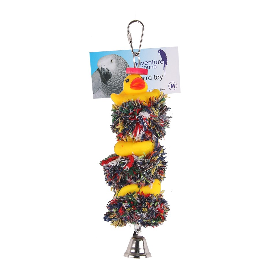 DUCK & BELL BIRD TOY