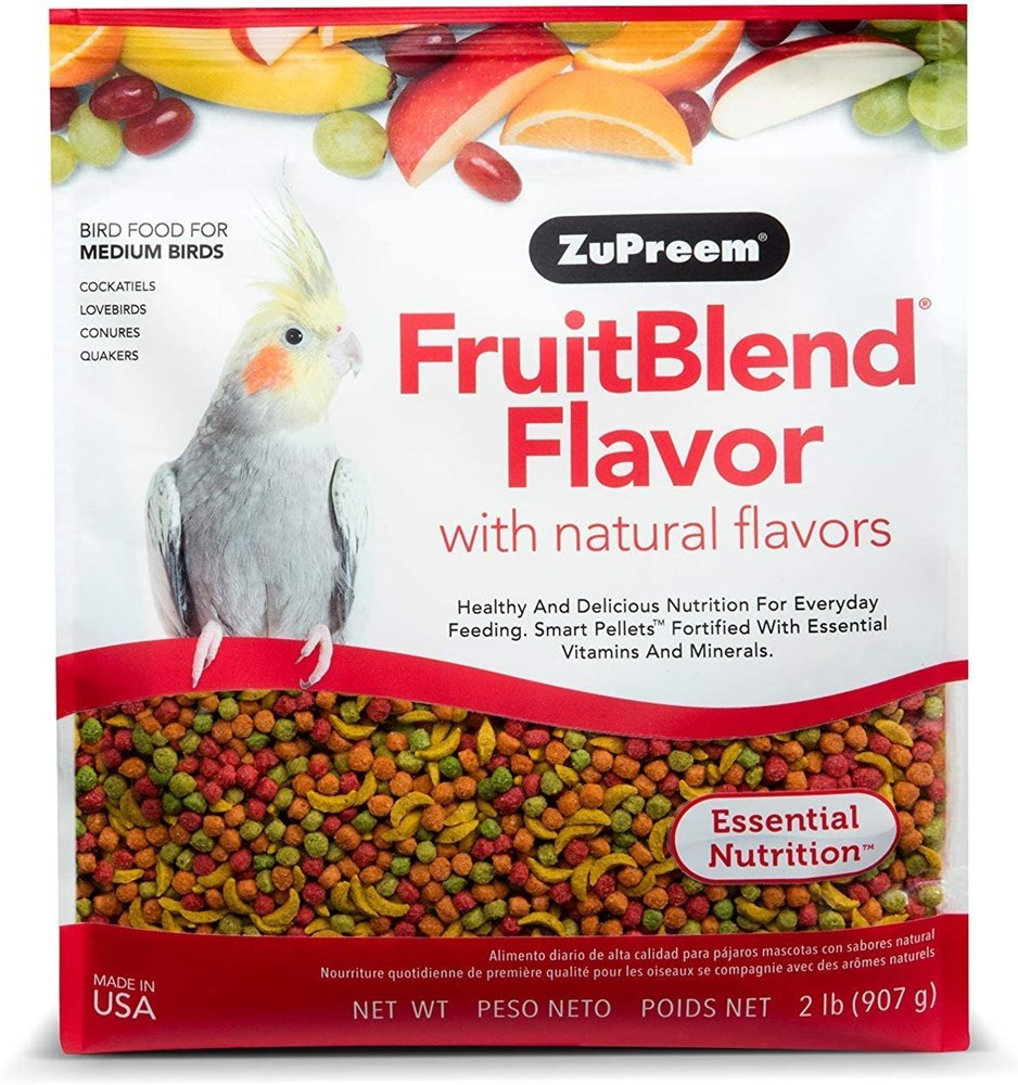 ZUPREEM FRUIT BLEND MEDIUM/LARGE