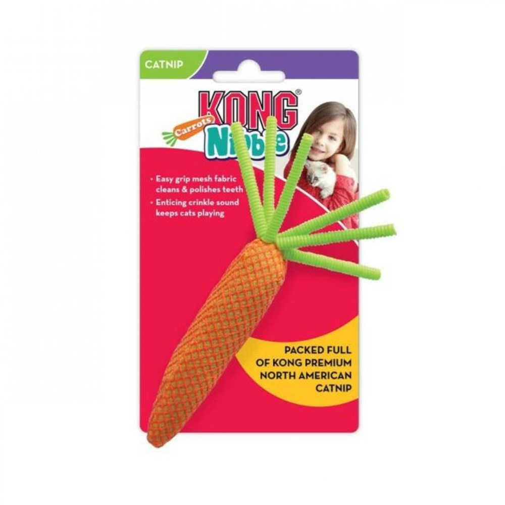 Kong Nibble Carrots - Assorted Colours