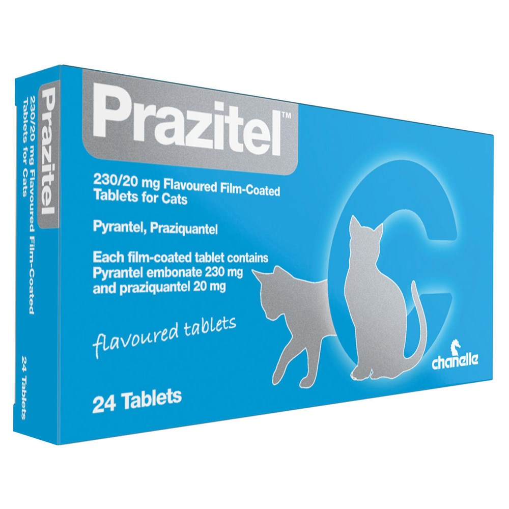 PRAZITEL PLUS+ CAT WORMER SINGLE TABLET