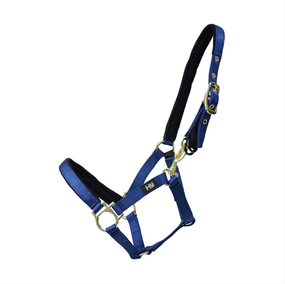HY FIELDSAFE HEADCOLLAR NAVY PONY