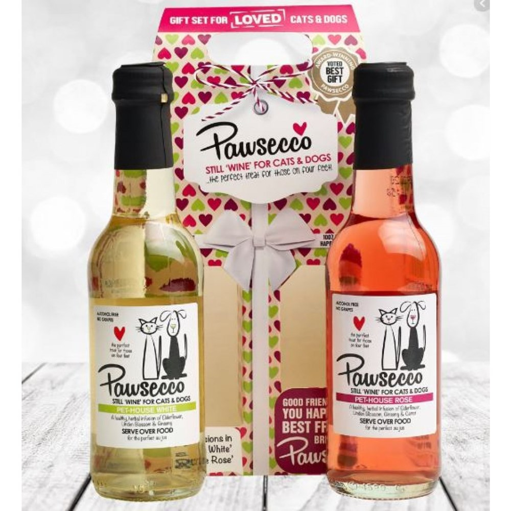 PAWSECCO DUO PACK FOR CATS