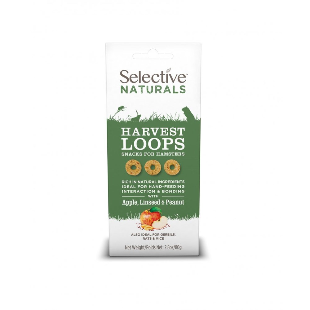 Selective Naturals Harvest Loops 80g