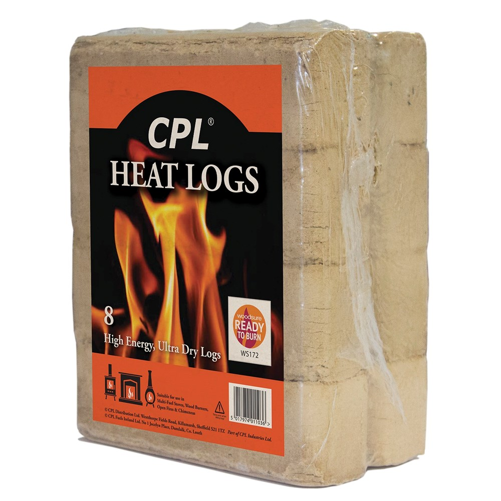 CPL Heat Logs - 8 pack