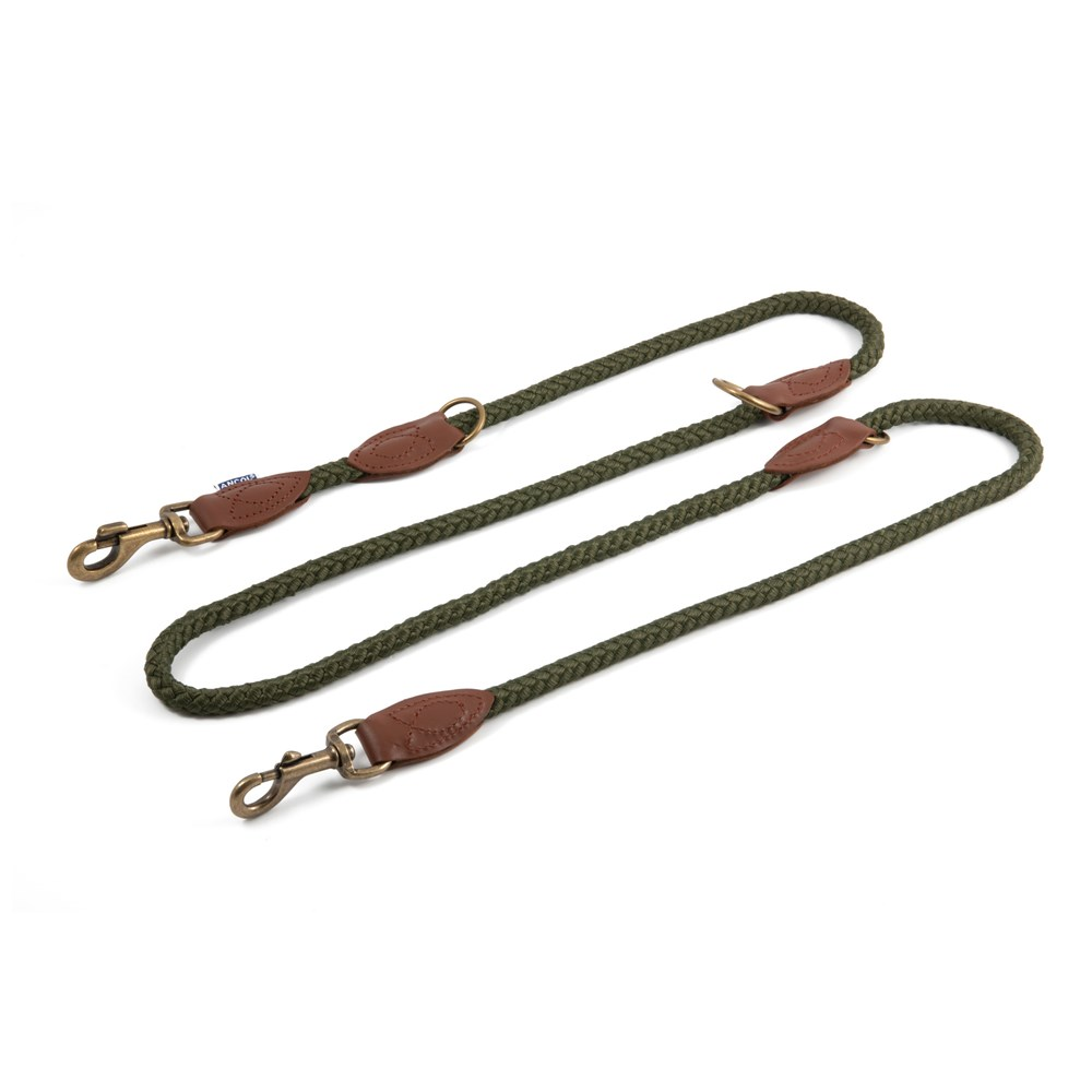 HERITAGE 2M MULTIWAY TRAINING LEAD GREEN