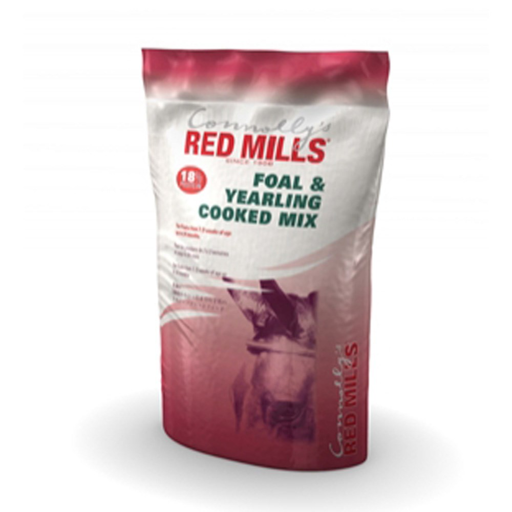 RED MILLS FOAL & YEARLING 18% COOKED MIX 25KG