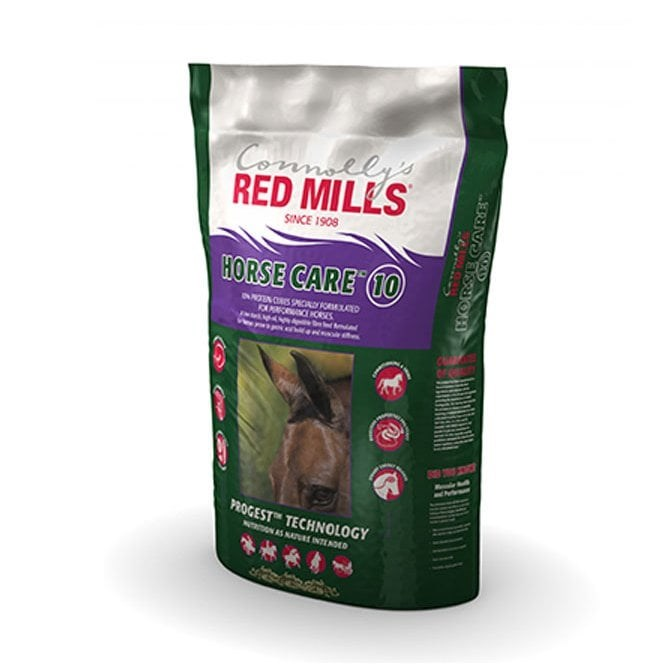 RED MILLS 10% HORSE CARE CUBES 20KG