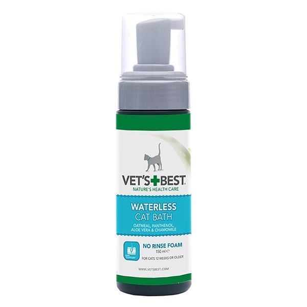 WATERLESS CAT BATH 150ML