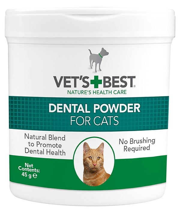 DENTAL POWDER FOR CATS 45G