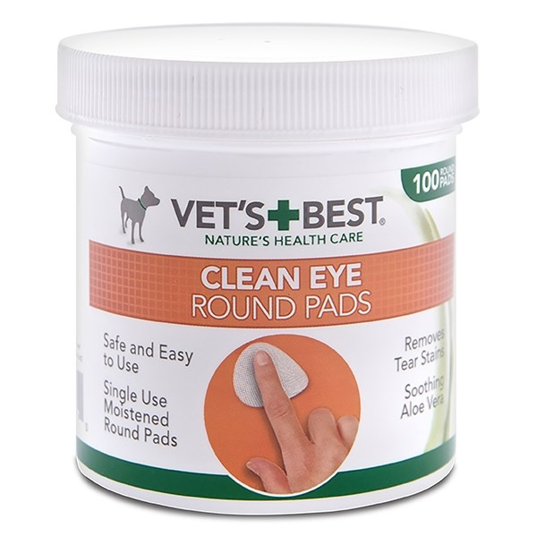 CLEAN EYE ROUND PADS 100PC