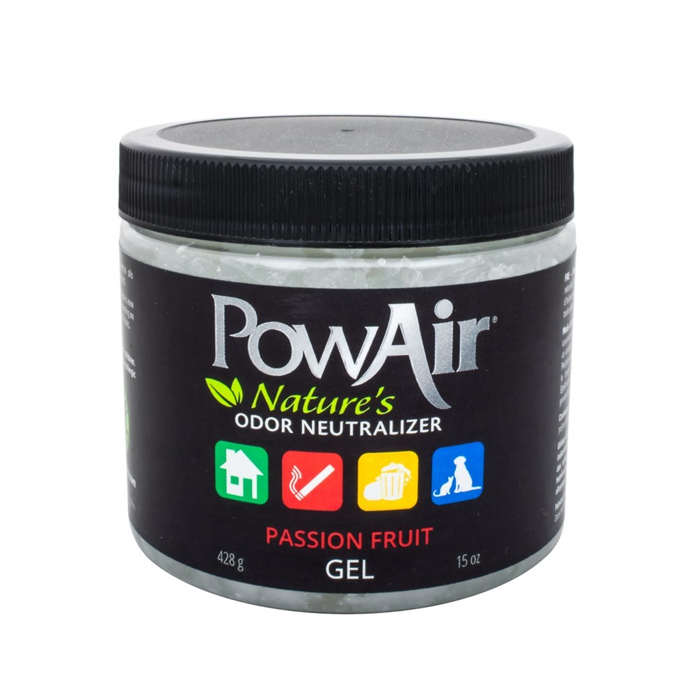 POWAIR GEL 400G JAR - PASSION FRUIT