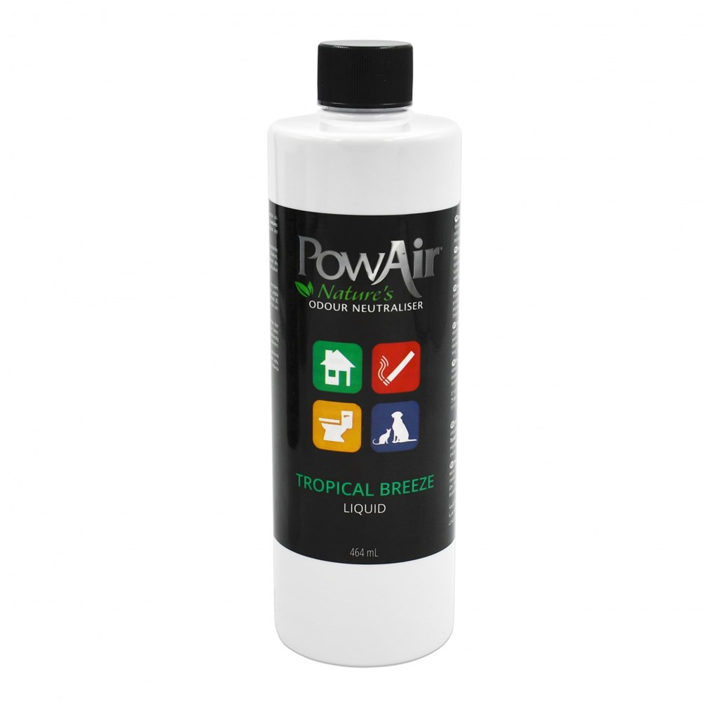 POWAIR LIQUID 464ML TROPICAL BREEZE