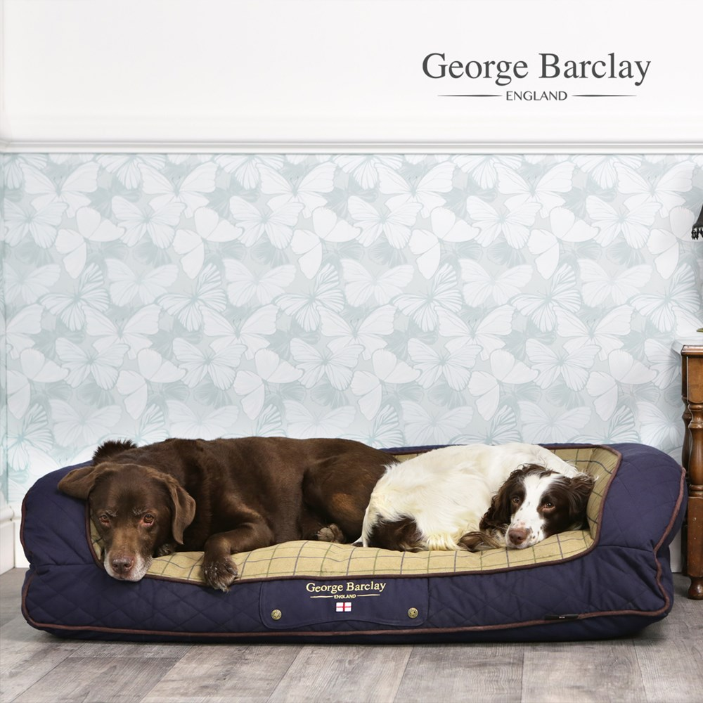 George Barclay Country Sofa Bed Medium - Midnight