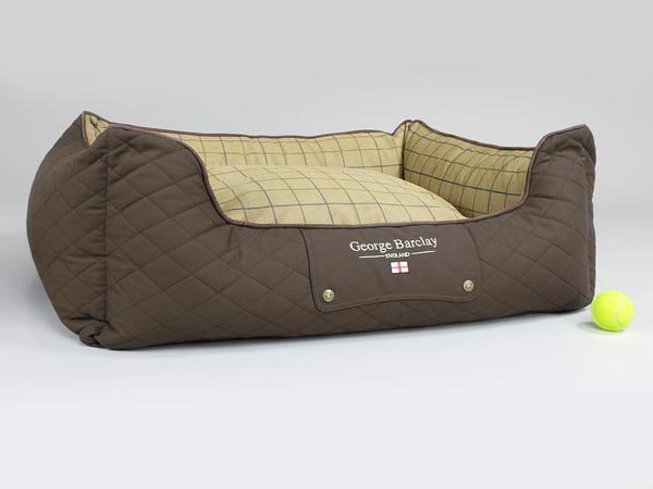 George Barclay Country Orthopaedic Box Bed Small - Chestnut Brown