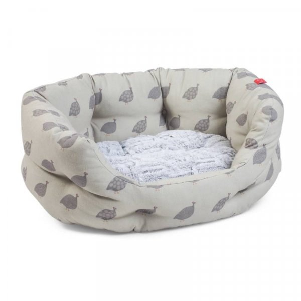 Feathered Friends Oval Soft Dog Bed - Small
