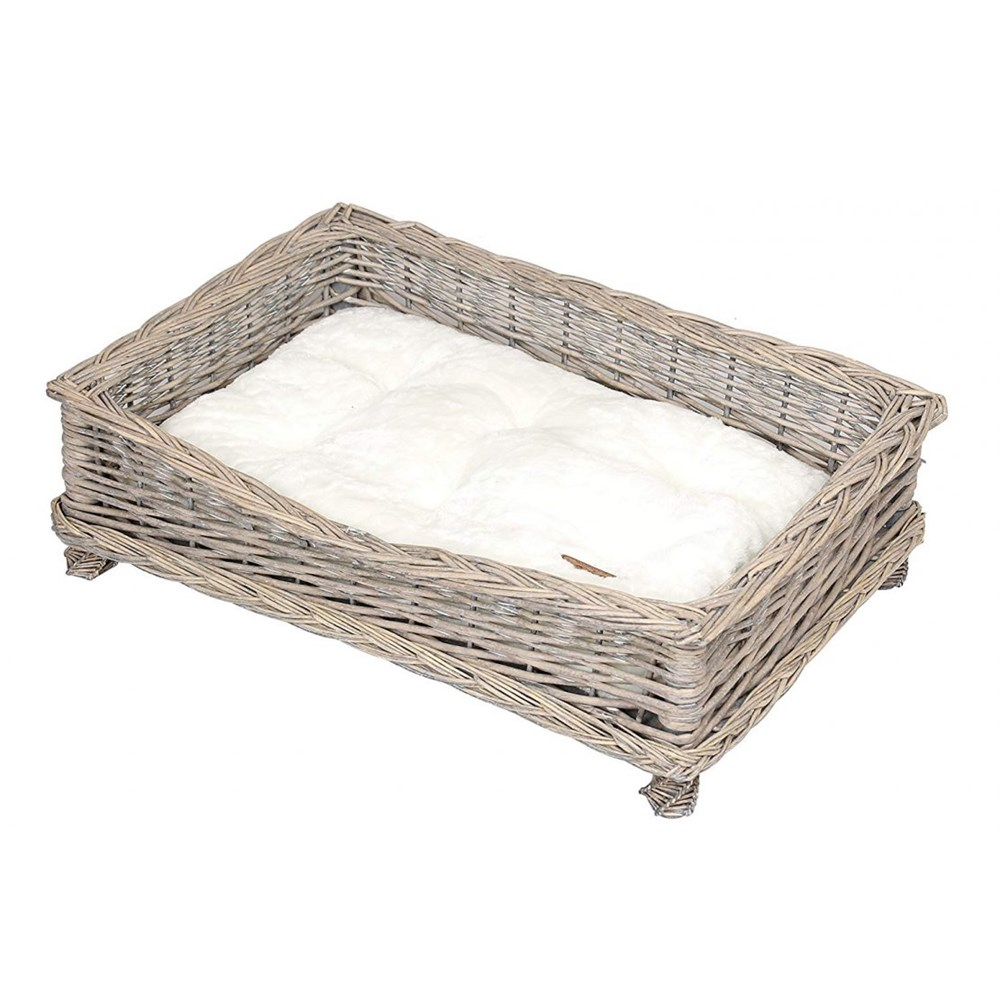 Banbury & Co Square Willow Pet Basket - Small / Medium
