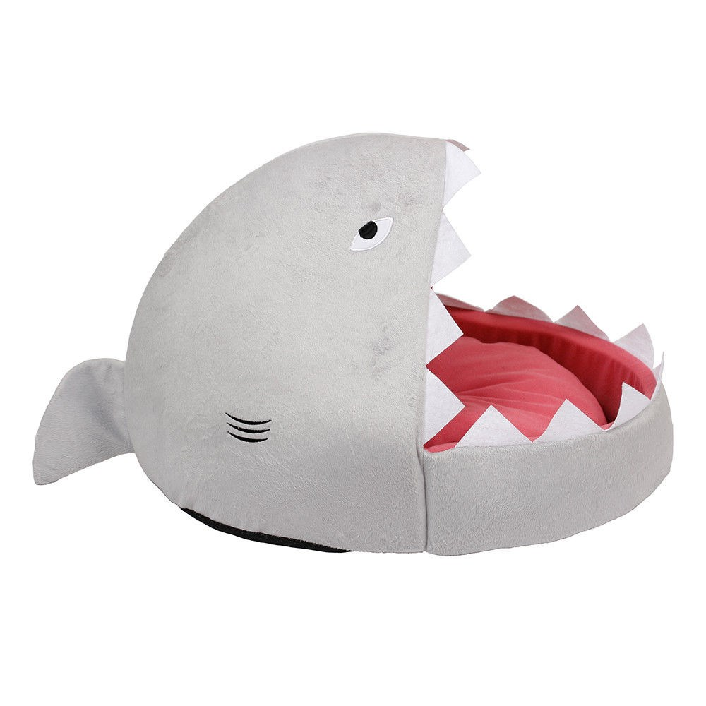 Ministry of Pets Sheila Shark Igloo Bed