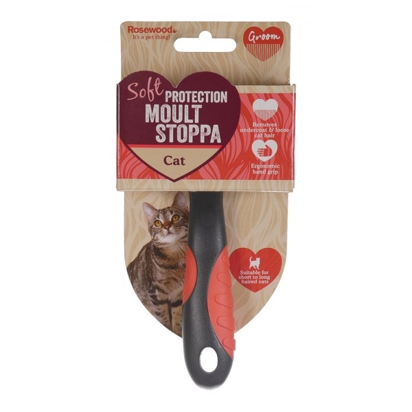 Rosewood Soft Protection Cat Moult Stoppa