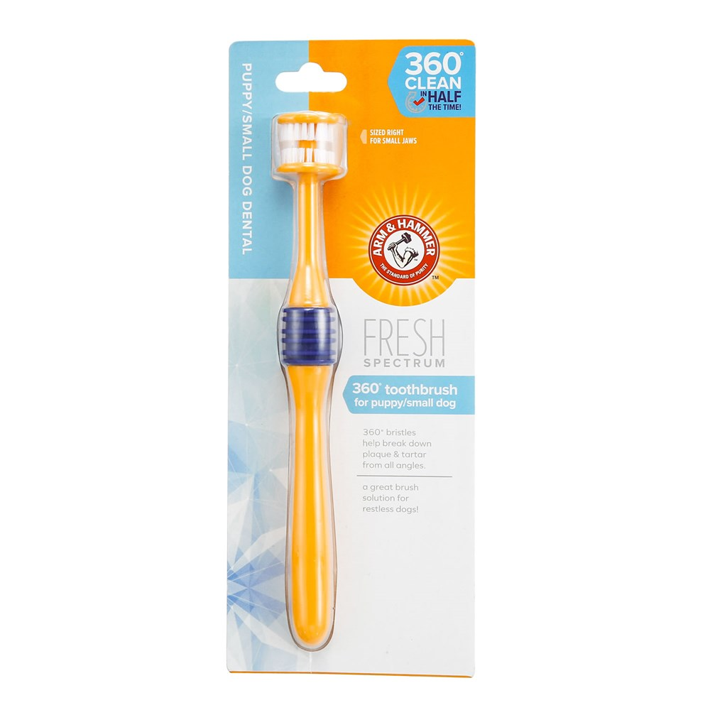 ARM & HAMMER 360 DEGREE TOOTHBRUSH PUP/SML