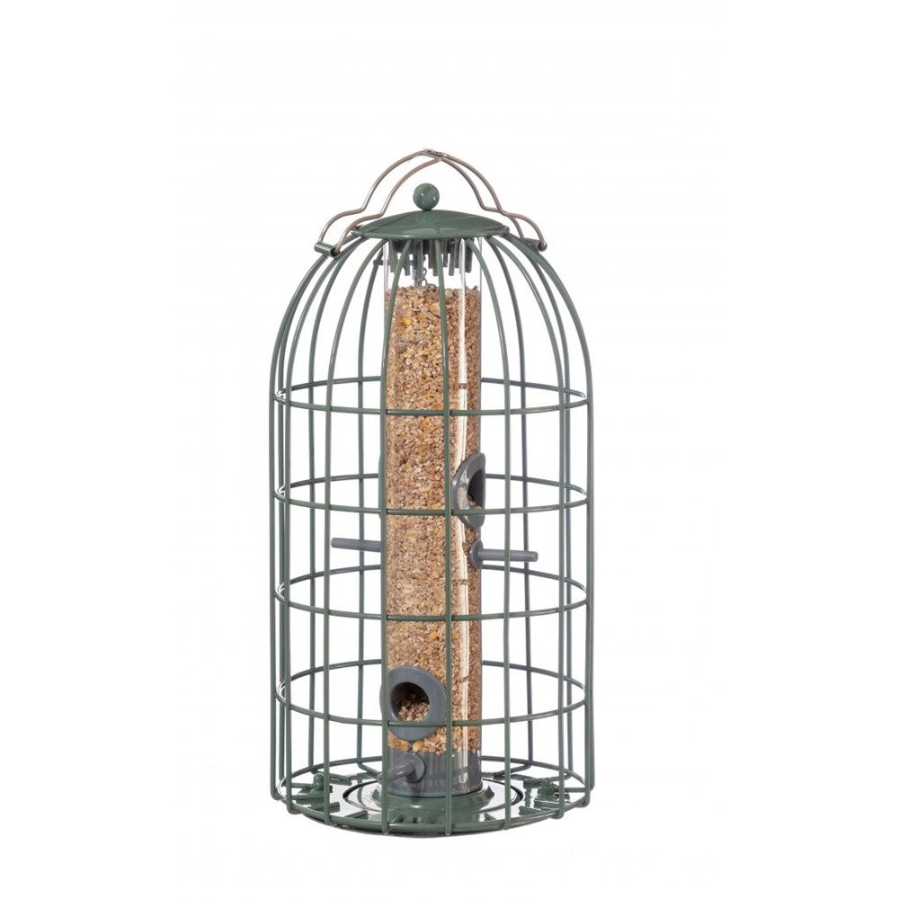 The Nuttery Classic Original Seed Squirrel Proof Wild Bird Feeder