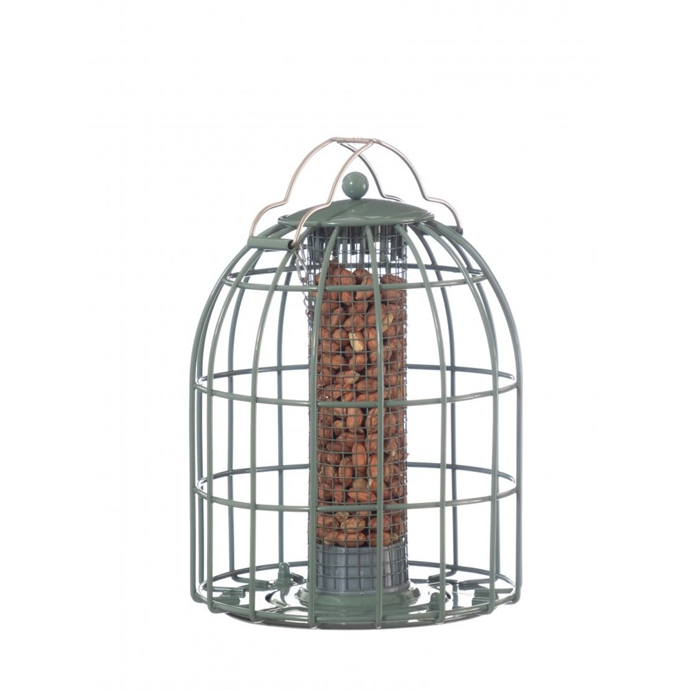 The Nuttery Classic Compact Nut Squirrel Proof Wild Bird Feeder
