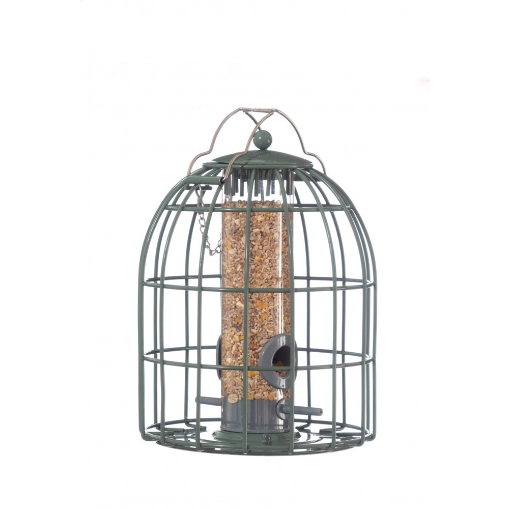 The Nuttery Classic Compact Seed Squirrel Proof Wild Bird Feeder