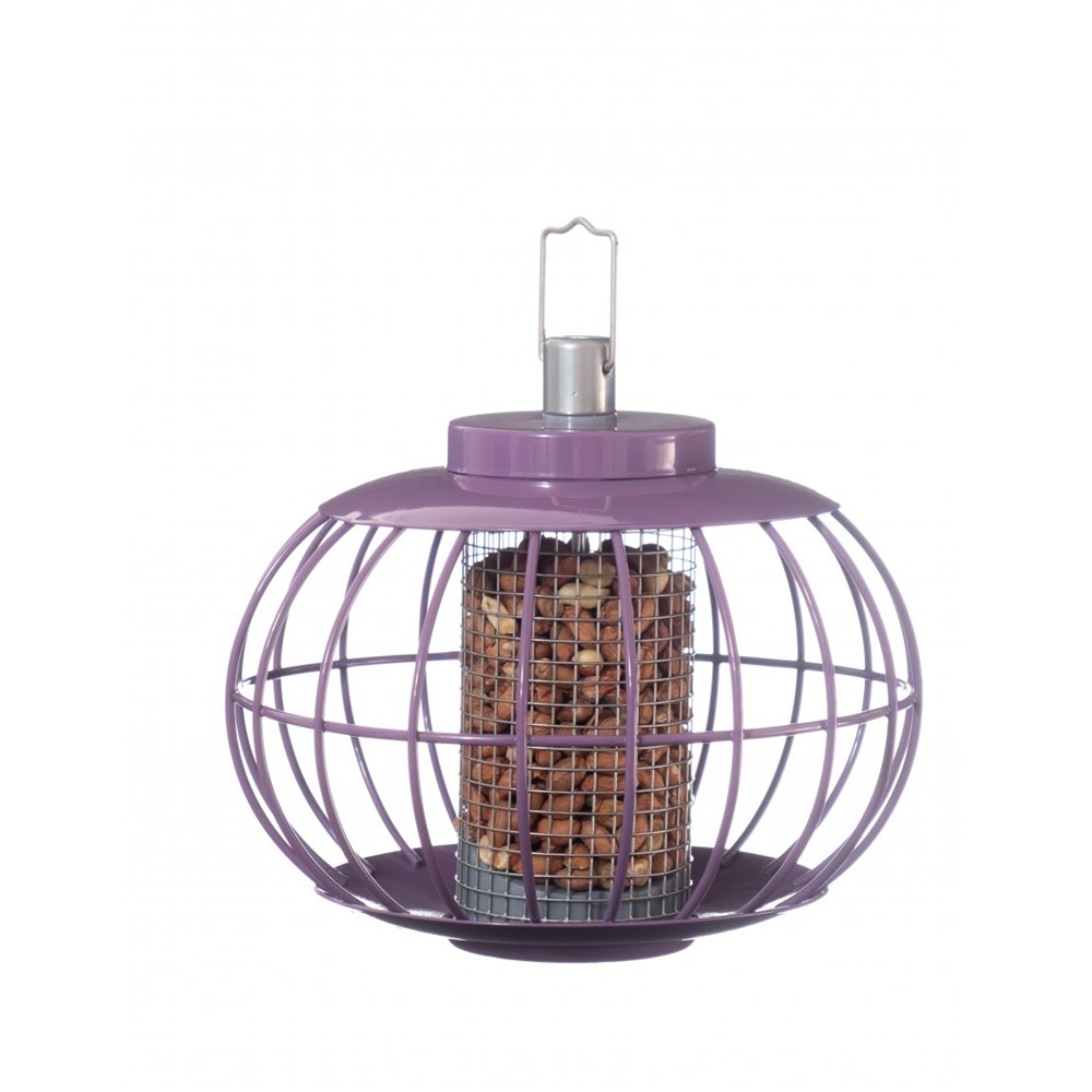 The Nuttery Classic Lantern Nut Squirrel Proof Wild Bird Feeder