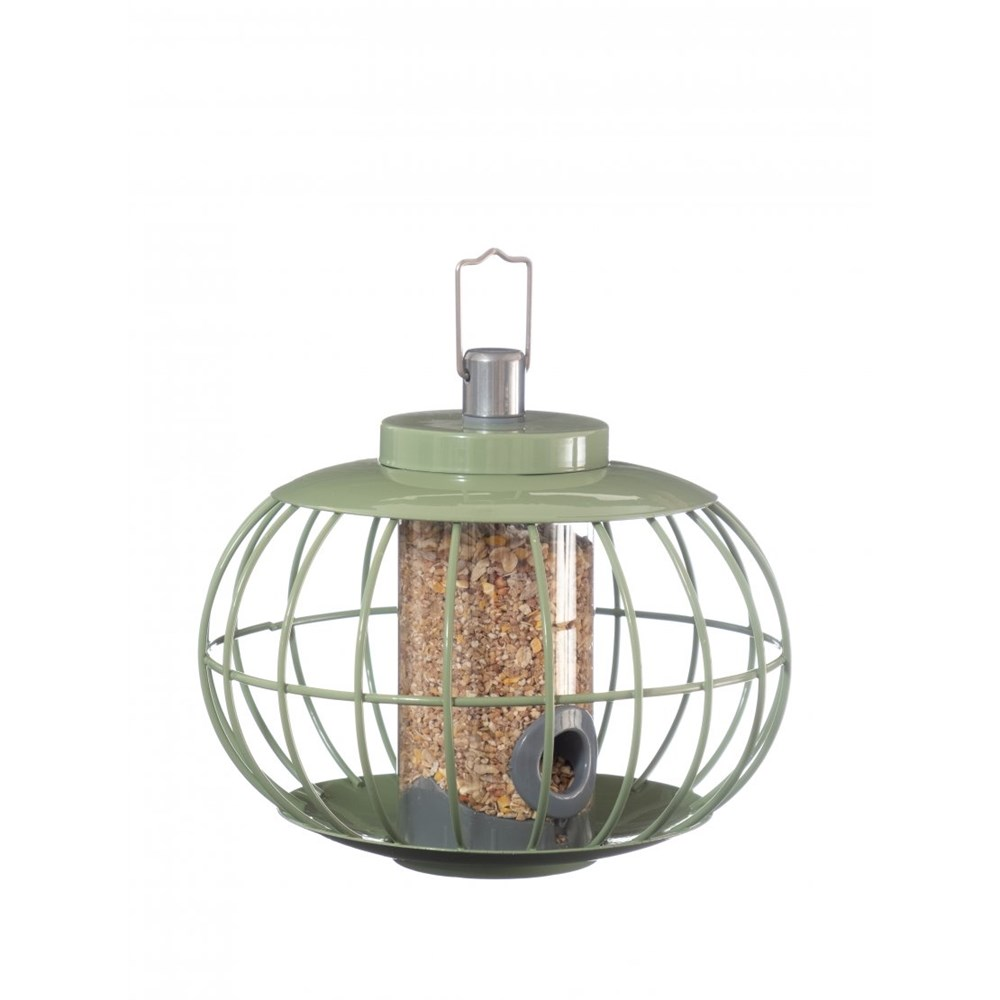The Nuttery Classic Lantern Seed Squirrel Proof Wild Bird Feeder
