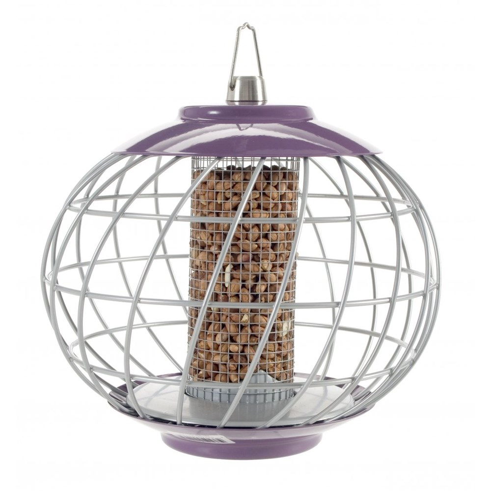 The Nuttery Classic Helix Nut Squirrel Proof Wild Bird Feeder