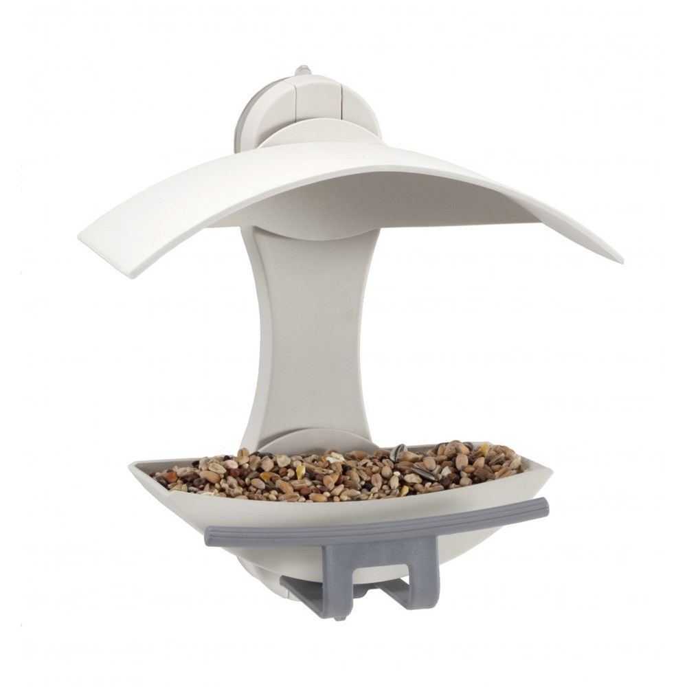 The Nuttery Classic Window Wild Bird Feeder