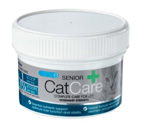 NAF NATURAL VETCARE SENIOR CATCARE 60G