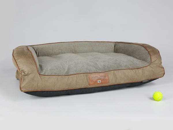 George Barclay Exbury Sofa Bed Large - Latte