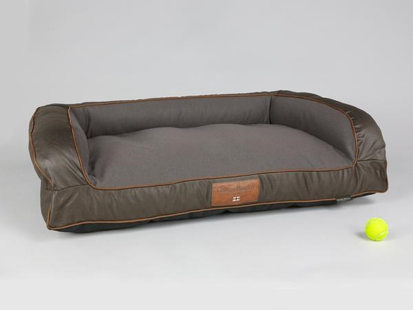 George Barclay Beckley Sofa Bed Large - Mahogany / Chestnut