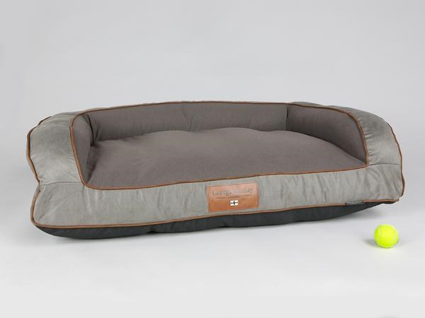 George Barclay Beckley Sofa Bed Large - Taupe / Chestnut