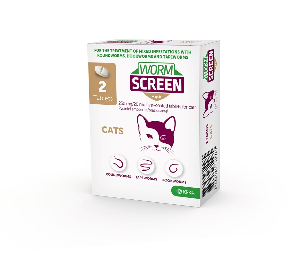 Wormscreen Cat 2 Tablet