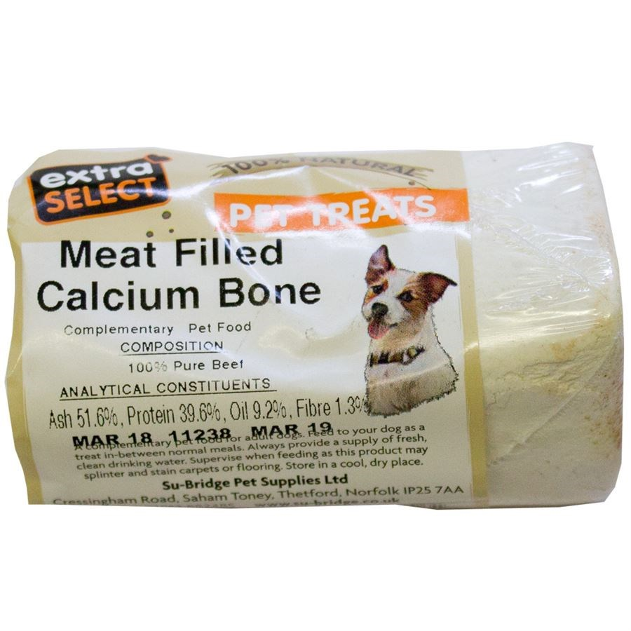 EXTRA SELECT MEAT FILLED CALCIUM BONE