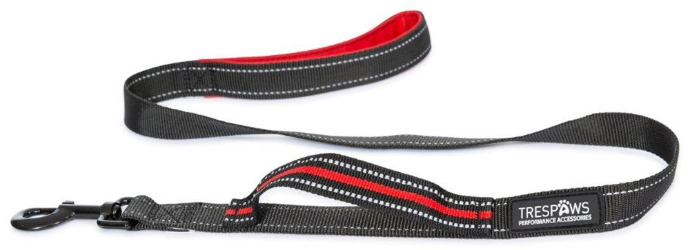 TRESPAWS BUSTER DOG LEAD POSTBOX RED
