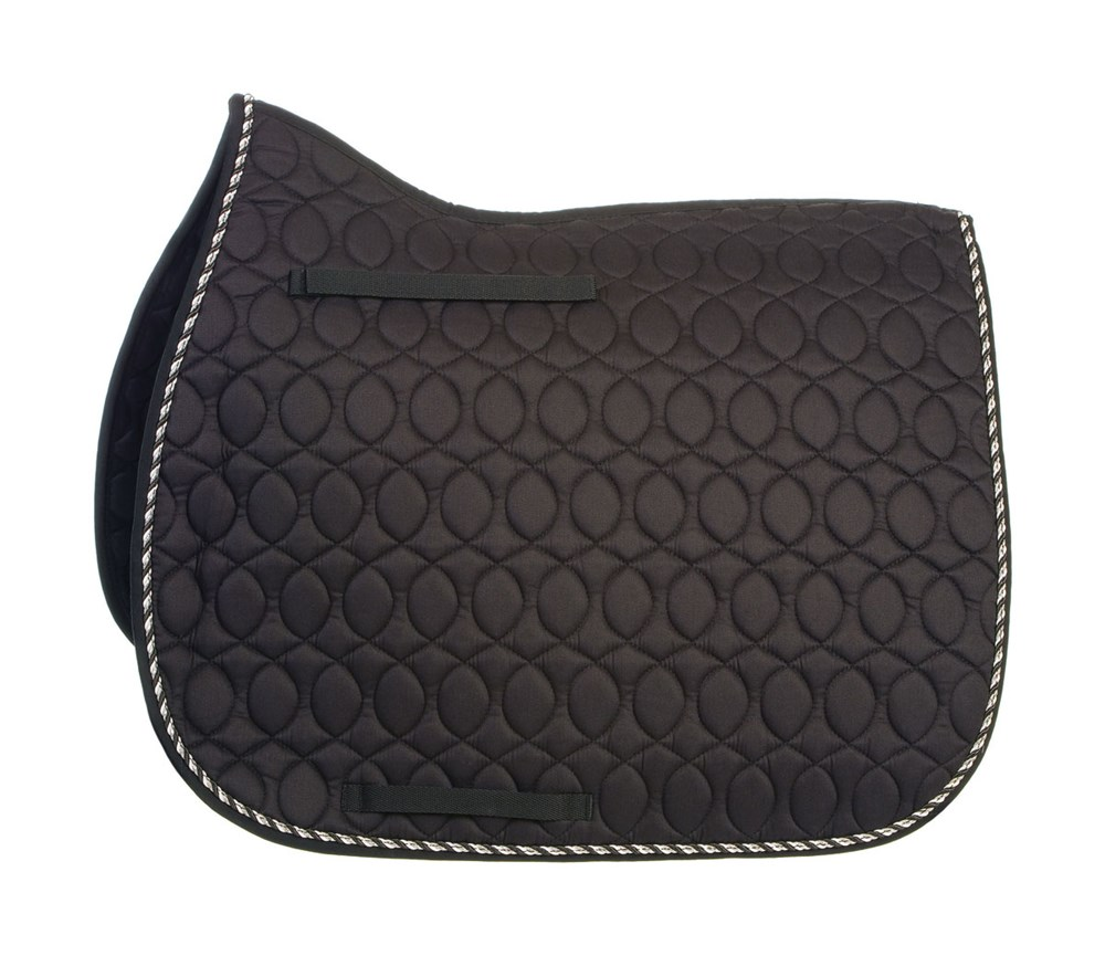 HySPEED Deluxe Saddle Pad Binding Blk P