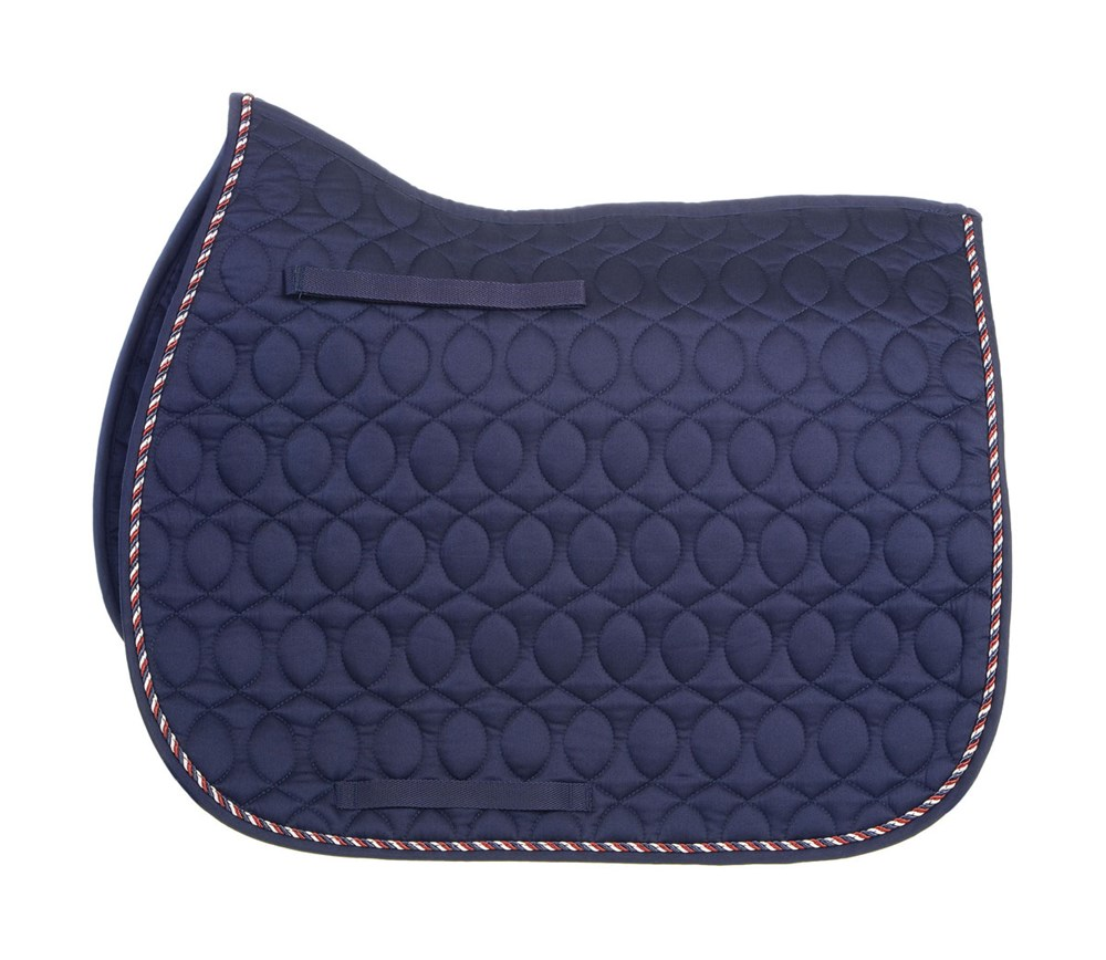 HySPEED Deluxe Saddle Pad Binding Nvy P