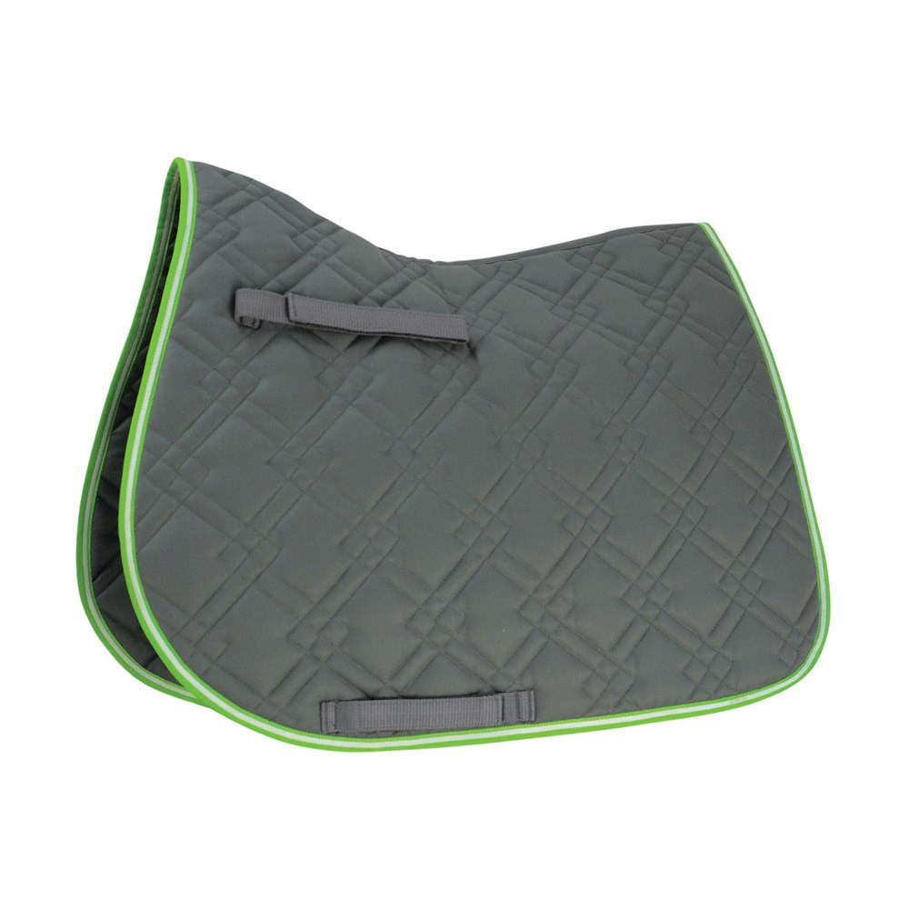 HySPEED Deluxe Pro Saddle Pad Grey P/C