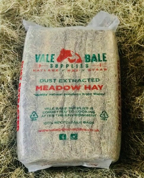 Vale Bale Dust Extracted Meadow Hay - 13kg