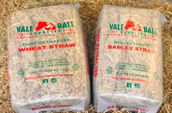 VALE BALE DUST EXTRACTEED STRAW 12KG
