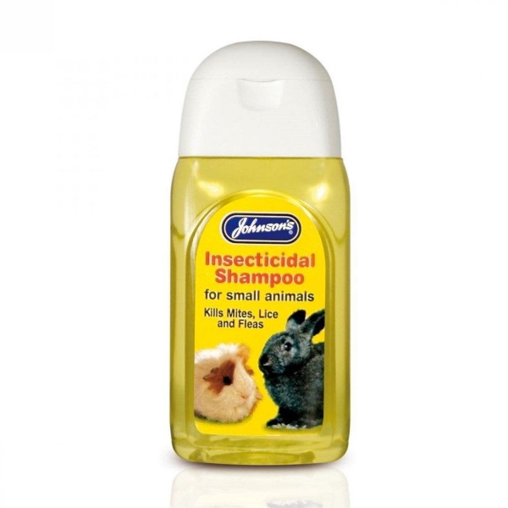 JOHNSONS SMALL ANIMAL INSECTICIDAL SHAMPOO 125ML