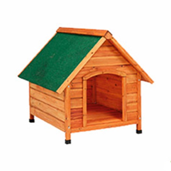 GAUN WOODEN KENNEL SLOPE ROOF SMALL