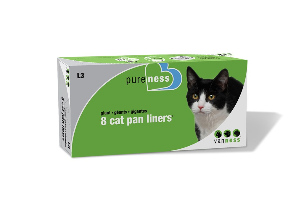 VAN NESS GIANT CAT PAN LINERS 8PK
